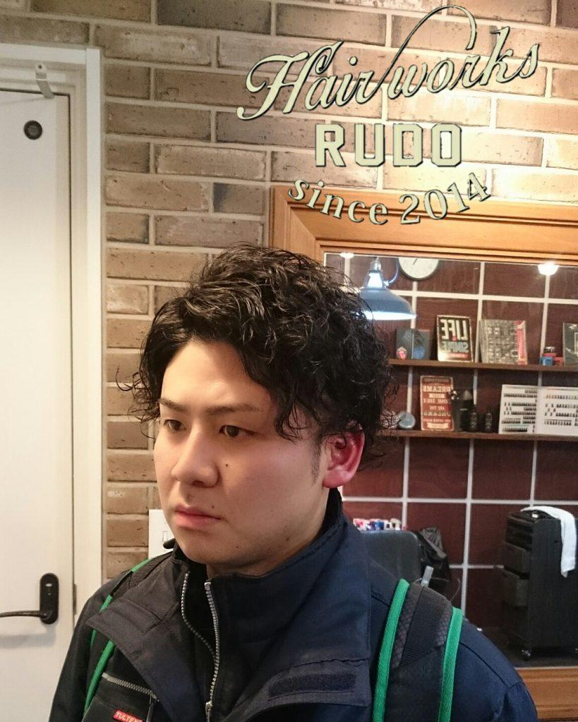 最近髪を伸ばし始めたルード